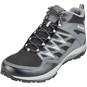 Columbia Wayfinder Mid Outdry Shoes Men Black/White